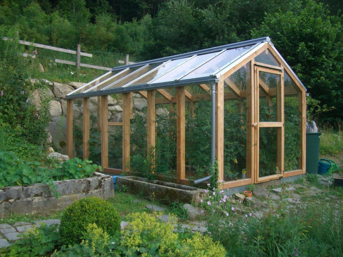 Gewächshaus für Gartenliebhaber, Referenz Holzbau Eiler