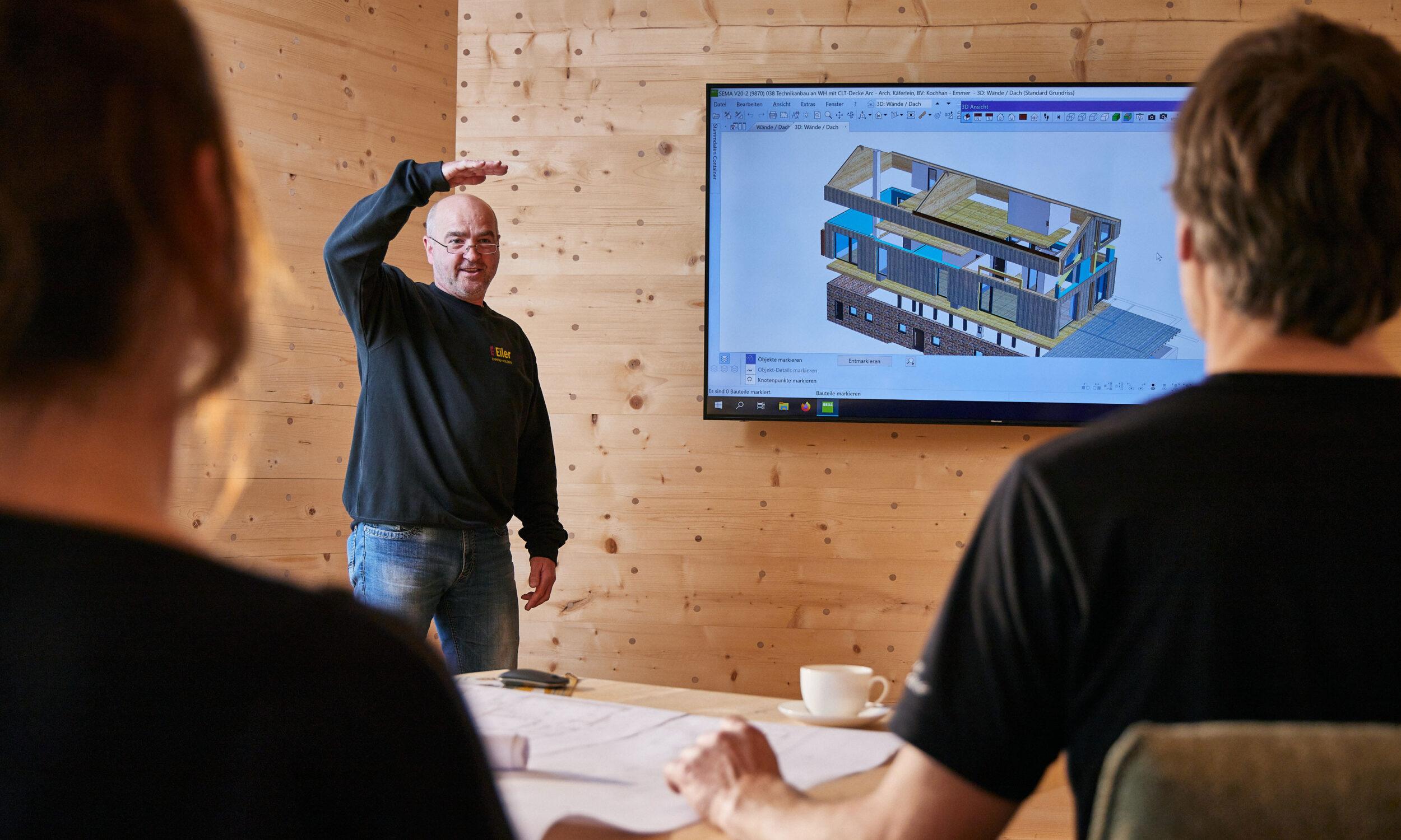 Holzbau Eiler Planung