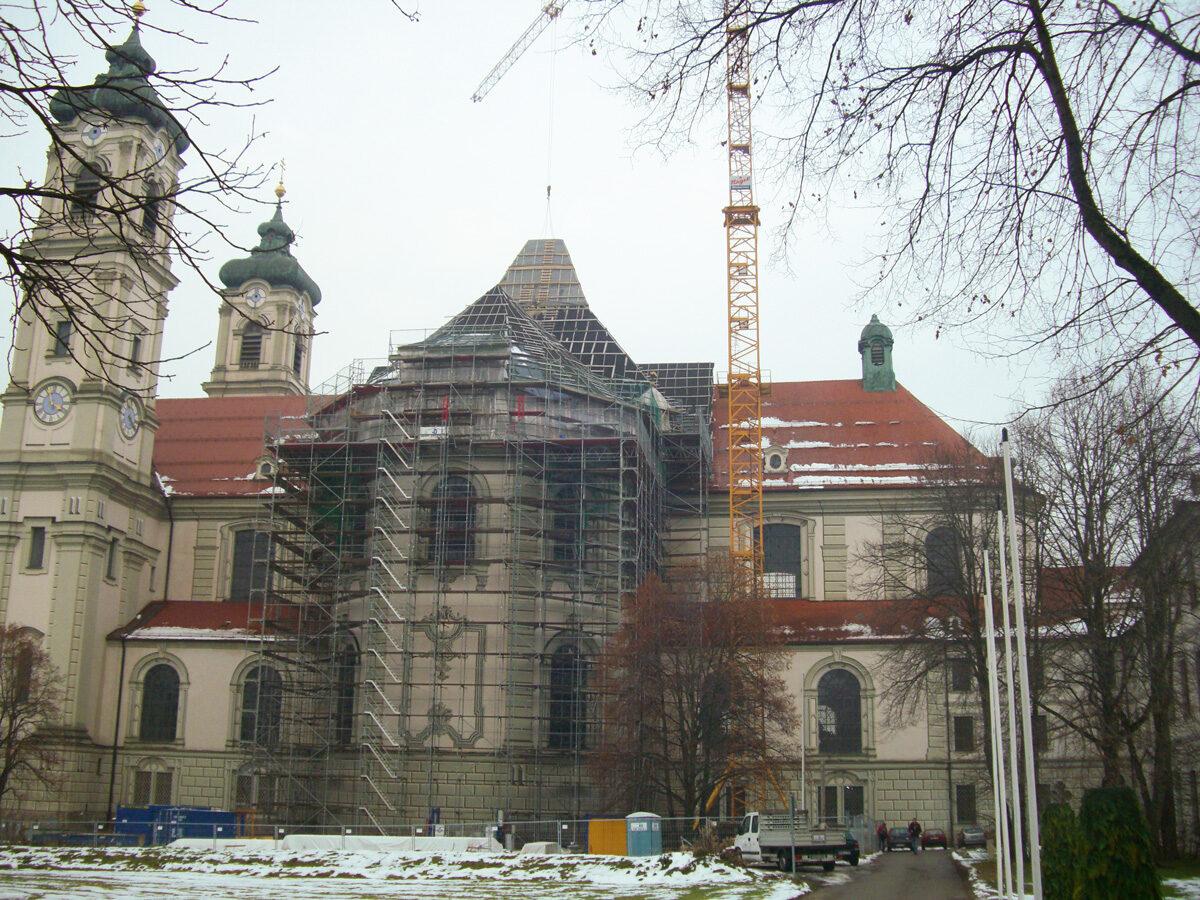 Basilika St. Alexander und St. Theodor Ottobeuren, Denkmalpflege Holzbau Eiler