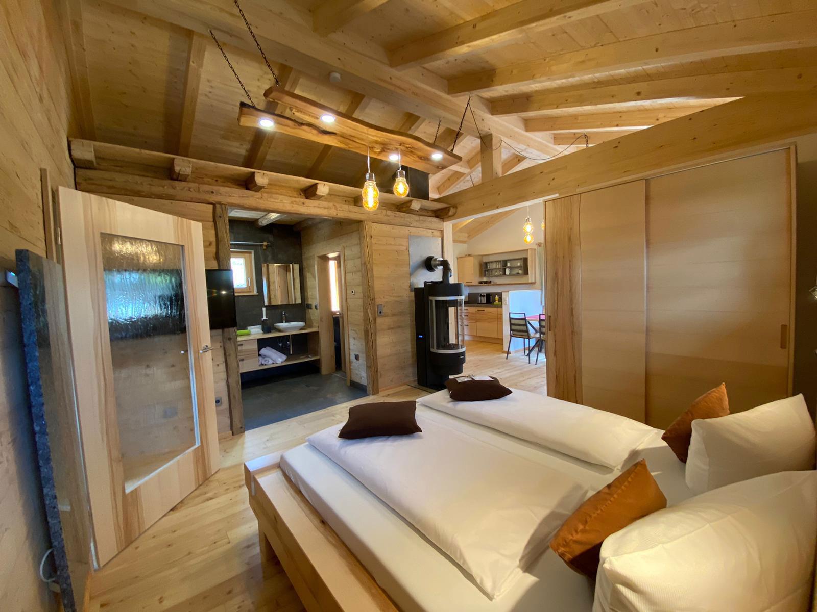 Neubau Holz-Cottage Holzbau Eiler