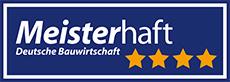 Logo Meisterhaft, 4 Sterne