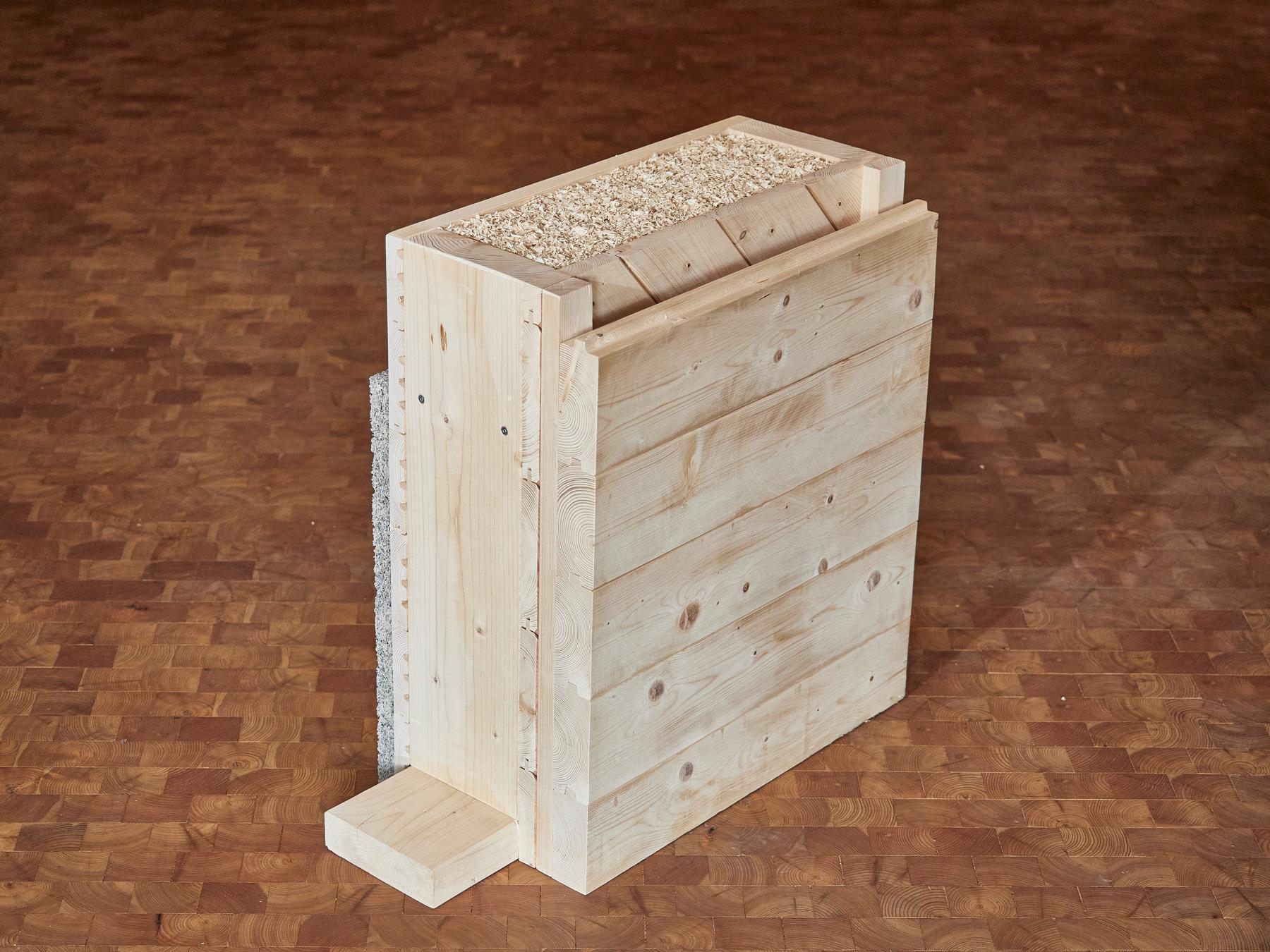 Wandystem, Holzbau Eiler